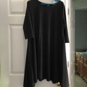 Agnes and Dora black dress